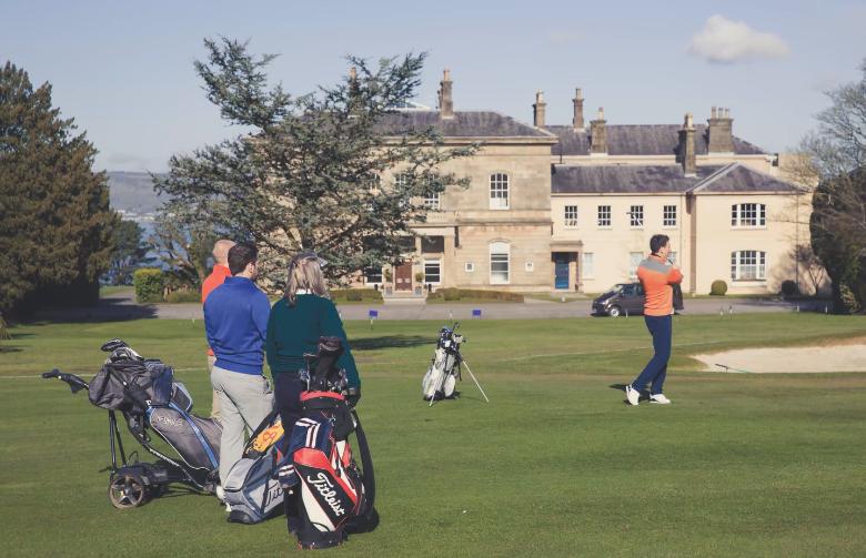 Behind the scenes: Golf Now TV shoot